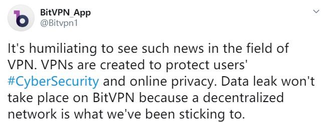 bitvpn twitter post